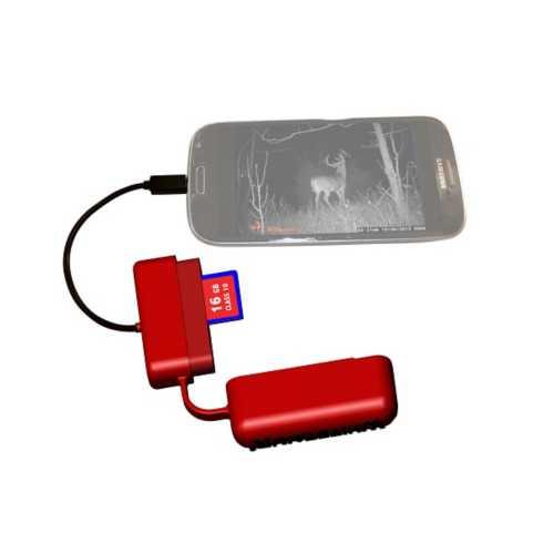 Whitetail'r PhoneREAD'R SD Card Reader
