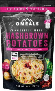 Omeals Hash Browns with Bacon and Peppers