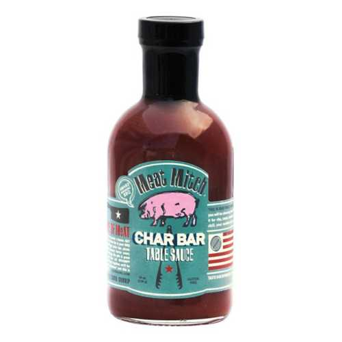 Meat Mitch Char Bar Table BBQ Sauce