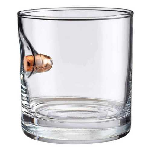 BenShot 0.45ACP 11oz Rocks Glass