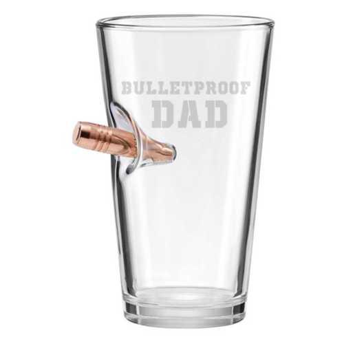 BenShot Bulletproof Dad 16oz Pint Glass