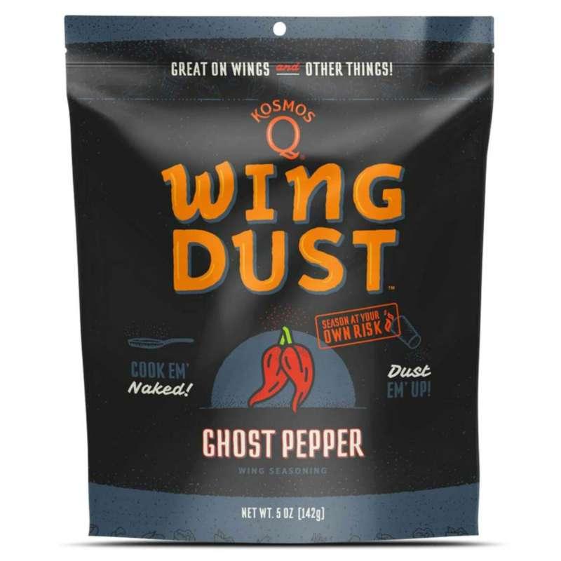 Kosmos Q Ghost Pepper Wing Seasoning 5 oz