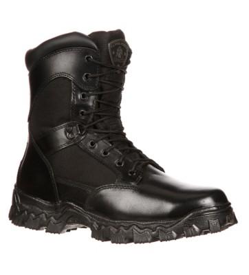 """Men's Rocky Alpha Force Side Zip Waterproof 8"""" Boots"""