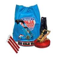 B4 Adventure American Ninja Warrior Slackline with Hand Holds