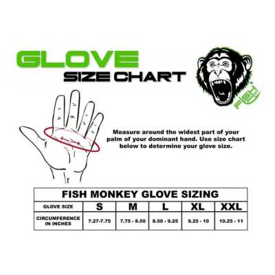Men's Fish Monkey FM 18 Stubby Guide Gloves