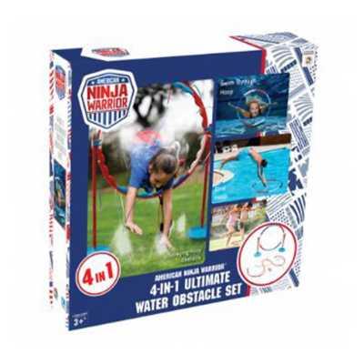 B4 Adventure American Ninja Warrior 4-In-1 Ultimate Water Obstacle Set