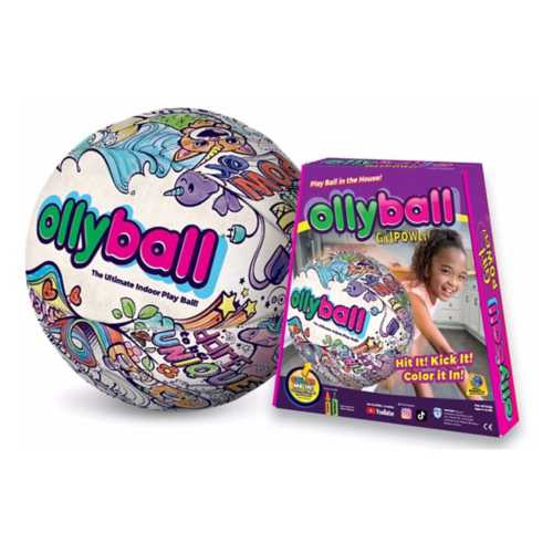 Ollyball Girlpower Indoor Play Ball