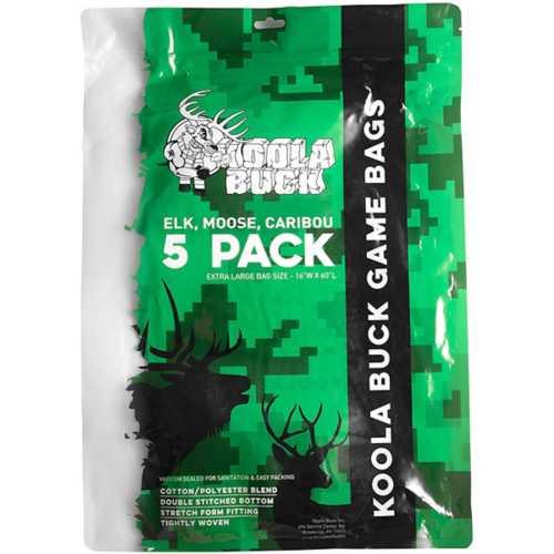 Koola Buck XL Game Bags 5 Pack for Elk, Moose, Caribou