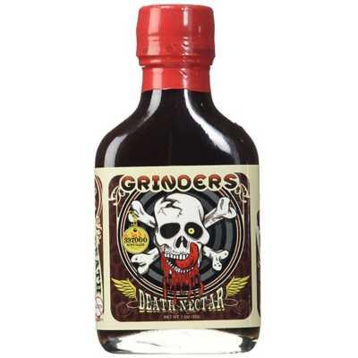 Grinders Death Nectar Hot Sauce