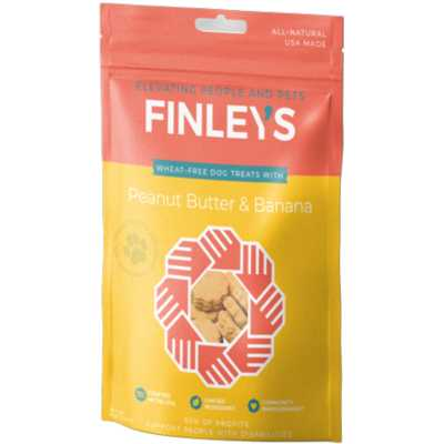 Finley's Barkery Peanut Butter and Banana Biscuits