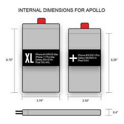 Phoozy Apollo - XL Thermal Phone Capsule