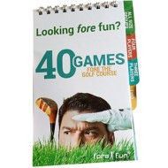 Proactive Sports 40 Games FORE Golf Book