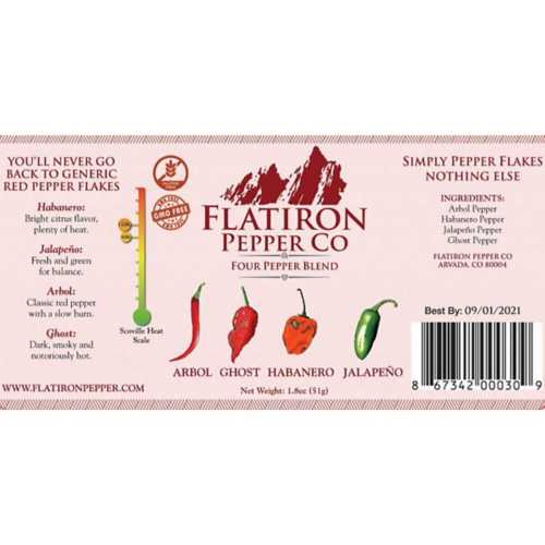 Flatiron Pepper 4 Pepper Blend Seasoning
