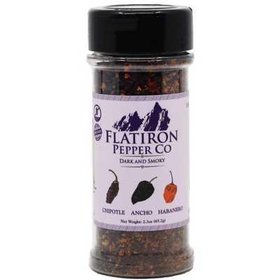 Flatiron Pepper Dark and Smoky Seasoning