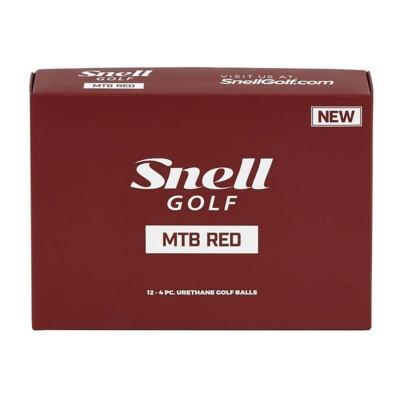 Snell Golf MTB Red Golf Ball
