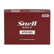 Snell Golf MTB Red Golf Ball