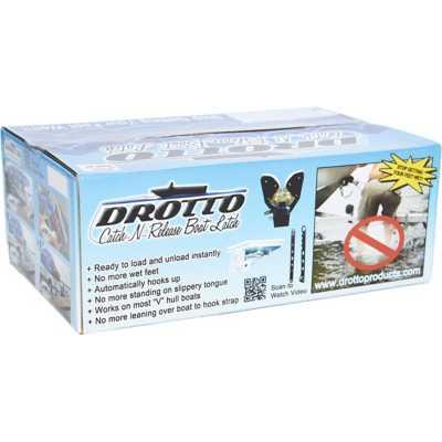 Drotto 3-Inch Catch-N-Release Boat Latch Tracker/Boatmate