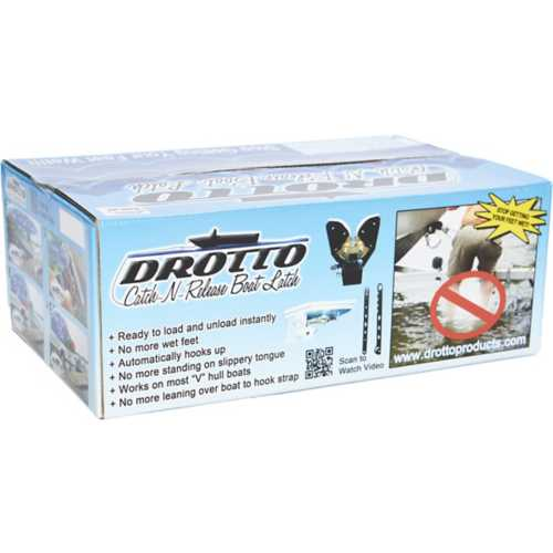 Drotto 3.75-Inch Catch-N-Release Boat Latch for Ranger or Stratos