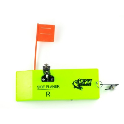Torpedo Planer Board With Tattle Flag