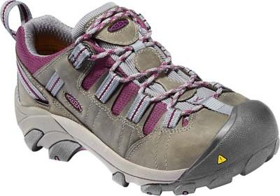 Women's KEEN Utility Detroit Low Steel Toe Work Shoes