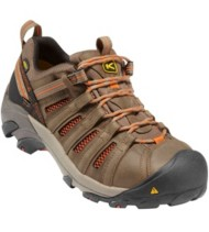 Men's KEEN Utility Flint Steel Toe Low Work Shoes