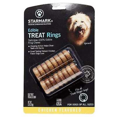 StarMark Edible Treat Rings Chicken 16 Pack