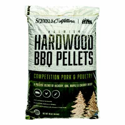 Scheels Outfitters Pork and Poultry Hardwood Pellets 40lb Bag