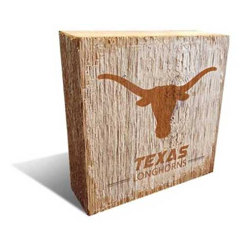 Fan Creations Texas Longhorns Block Logo