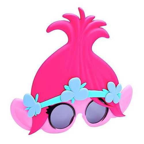 Kids' Sun-Staches Trolls Poppy Sunglasses