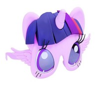 Youth Sunstaches My Little Pony: Twilight Sparkle Sunglasses