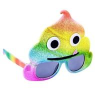Youth Sunstaches Rainbow Poo Sunglasses