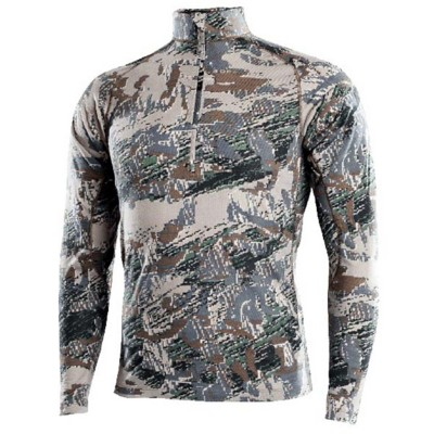 Men's Sitka Merino Core Zip Long Sleeve T-shirt