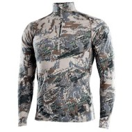 Men's Sitka Merino Core Zip Long Sleeve T-shirt