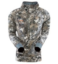 Men's Sitka Fanatic Series 1/2 Zip Hoodie