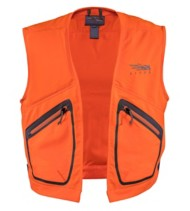 Men's Sitka Ballistic Blaze Orange Vest