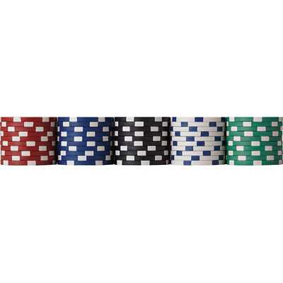 Fat Cat Texas Hold 'Em 500 Chip Poker Set with Aluminum Case