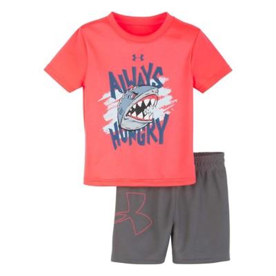 e6879363 Infant Boys' Under Armour Always Hungry Shark T-Shirt Set