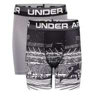 Grade School Boys' Under Armour Football 2 Pack Boxer Set