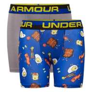 Grade School Boys' Under Armour Morning Champs 2 Pack Boxer Set