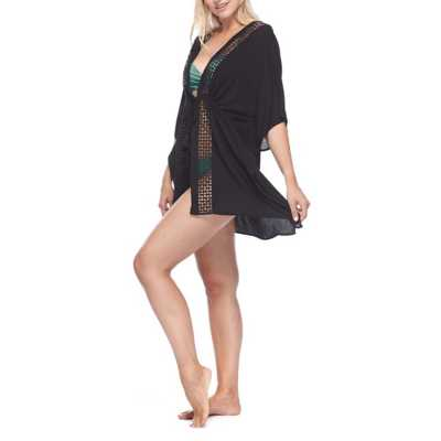 Women's Skye Black Joy Kimono Swimsuit Cover Up