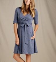 Women's Toad & Co. Cue Wrap Café Dress