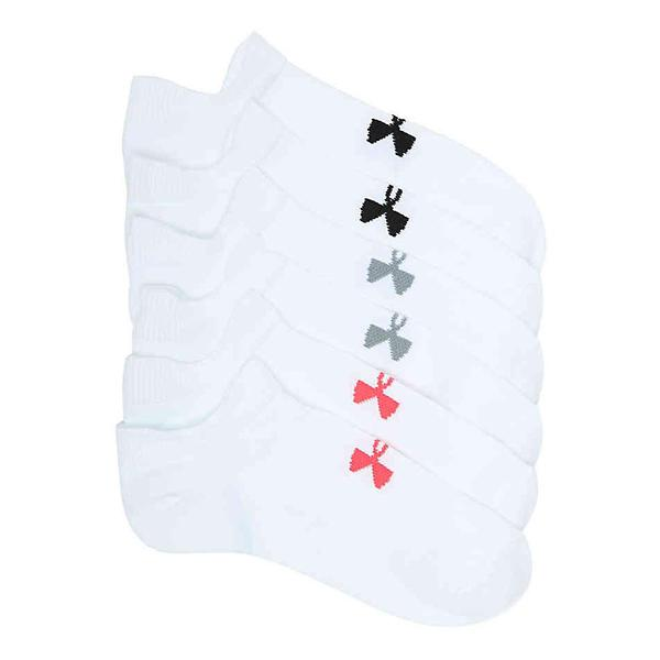 678e28b21b241 Women's Under Armour Essential 2.0 No-Show 6 Pack Socks | SCHEELS.com