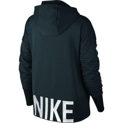 Women's Nike Dry Full Zip Logo Training Hoodie