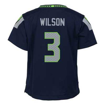 Toddler Nike Seattle Seahawks Russell Wilson Game Jersey