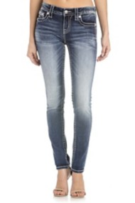 Women's Miss Me Walk This Way Mid-Rise Skinny Jean