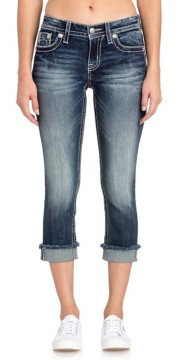 Women's Miss Me In the Mix Patch Pocket Capri