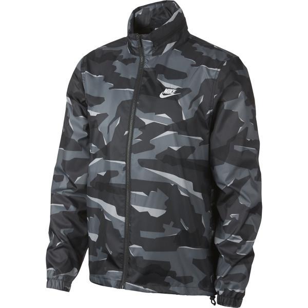 7b83be2d1969 Men s Nike Sportswear Hooded Camo Windbreaker Jacket