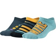 Youth Boys' Nike Performance Cushion No-Show Socks - 3 Pack