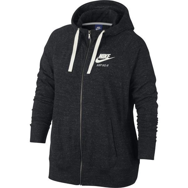 1f32609387b Women s Nike Sportswear Vintage Full Zip Hoodie - Extended Sizes ...
