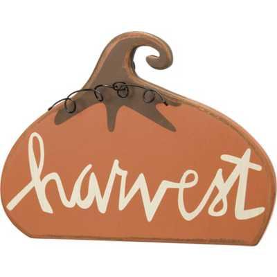 Primitives by Kathy Stand-Up - Harvest Pumpkin